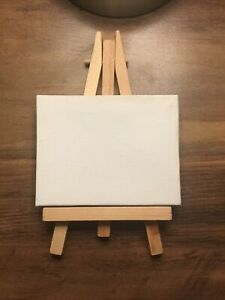 Mini Craft Easel Set of 2 (Canvas 9x7cm)