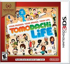 NEW Tomodachi Life Nintendo Selects Cover (Nintendo 3DS, 2016)