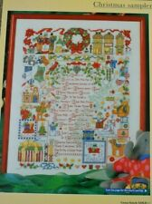 Everything You Love About Christmas In A Sampler Words Motifs Cross Stitch Chart