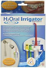DENTAL SHOWER H2ORAL IRRIGATOR FLOSS H2O ORAL WATER TEETH GREAT FOR BRACES TOO