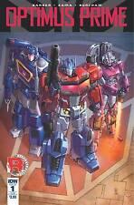 Optimus Prime #1 Sub cover A John Barber Kei Zama IDW 1st Print NM