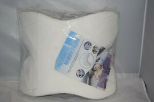 Pillow Pressure Free Memory Pillow/ Free Shipping Color: White/ Head Support