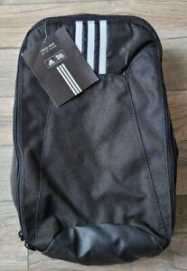NEW Adidas Golf Shoe Travel Bag Black White NWT