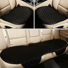 New Black & Red PU Leather Auto Interior Full Car Seat Cover 3D Car Seat Cushion
