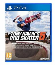 Tony Hawk's Pro Skater 5 Sony Ps4 PlayStation 4 Hawks Five Game