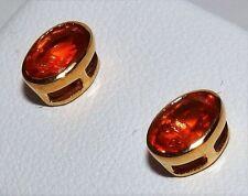 Fire Opals Drop/Dangle Fine Earrings