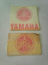 Yamaha Decals Red OLD STOCK £ 1.00