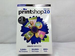 NEW - The Print Shop 2.0 Deluxe ( Windows 7, Vista, XP)