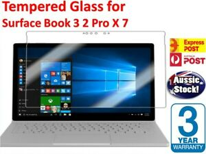 Tempered Glass Clear Strong Screen Protector for Microsoft Surface Book 3 2 X 7