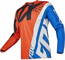 Maillots de cross oranges Fox