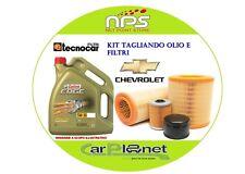 kit olio CASTROL E FILTRI  per CHEVROLET KALOS 53 Kw 1.2cc dal 2005 in poi