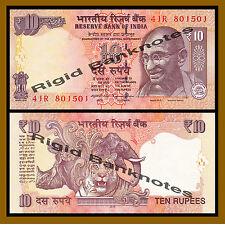 India 10 Rupees, 2014 P-102 New Rupee Symbol Unc