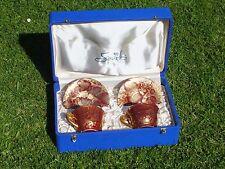 Rare paire de tasses déjeuner MF Sèvres dans la boite d'origine