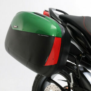 Benelli Shad SH43 Side Cases - Green, Luggage Touring Boxes Givi