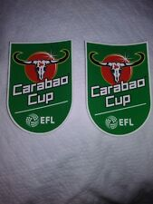Official EFL Cup Carabao Cup Patches/Badges 2017