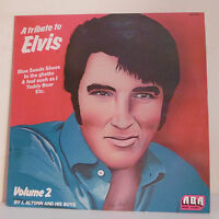 "33T TRIBUTE TO Elvis PRESLEY Vol.2 Vinyl LP 12"" By J. ALTONN And His BOYS 3349"