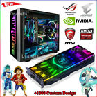 RGB Acrylic Backplate For GPU Graphics Card Pc Gaming Case LED Light Aura Sync