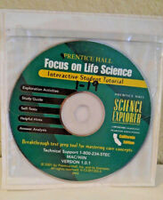 Prentice Hall LIFE Science 7th CD ROM SELF Tests ANSWER KEY STUDY GUIDE ANALYSIS