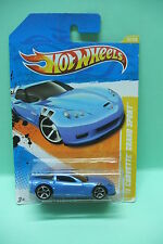 CORVETTE GRAND SPORT 2011 HOT WHEELS BLISTER AMERICAIN NEUVE 1/64 3inches