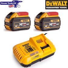 Dewalt DCB118 + 2x DCB547 18V/54V XR Fast Battery Charger + 9.0Ah Batteries