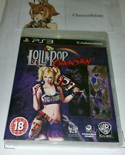 Lollipop Chainsaw Lolly Pop PS3 UK PAL Game Sony PlayStation 3 RARE
