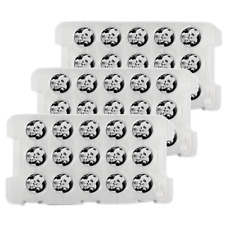 Lot of 60 - 2019 10 Yuan Silver Chinese Panda .999 30g BU In Cap 4 Full Sheets