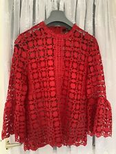 Quiz Lace Top 16 Red lace Brand New With Tags