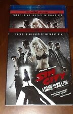 Sin City - A Dame To Kill For 3D Blu-ray & Blu-ray 2014 w/Slipcover New/Sealed
