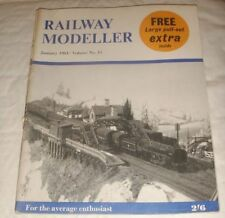 January Railway Modeller Rail Transportation Magazines