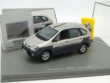 Uh 1/43 - Renault Scenic RX4 Grey + Slide Photo Library Boulogne Billancourt