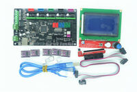 New MKS Gen V1.4 3D Printer Controller + 12864 LCD Display + 5pcs DRV8825 Driver
