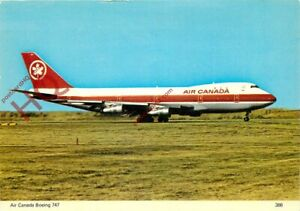 Picture Postcard>>AIR CANADA BOEING 747