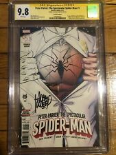 Peter Parker: The Spectacular Spiderman #1 CGC SS 9.8 - Signed Adam Kubert