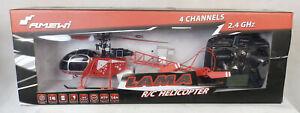AMEWI 25168 Lama RC Helicopter Hubschrauber Defekt mit Abbruch !!!