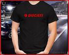 New Ducati Logo Motorcycle T shirt USA Size S 5XL
