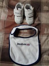 New Reebok shoes Toddler, size 3 and shirt saver