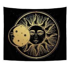 Indian Mandala Tapestry Sun and Moon Print Tapestry Art Psychedlic Wall Hanging