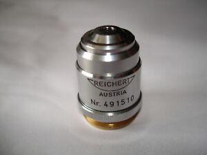 Reichert Mikroskopobjektiv Epi 10/0,16   250/0 np