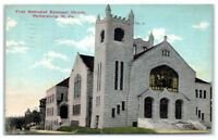 1912 First Methodist Episcopal Church, Parkersburg, WV Postcard