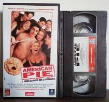 VHS FILM Ita Commedia AMERICAN PIE jason biggs filmauro no dvd(VHS11)