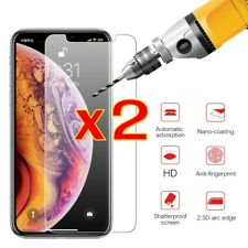 For iPhone X  Tempered Glass 2 Pack Screen Protector Bubble free for iPhone X