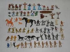 Soldatini Cromoplasto Nardi Timpo Toys Atlantic Indiani Cow Boy Cavalieri Totem