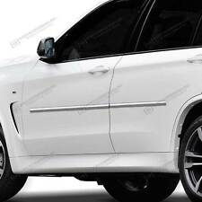 BODY SIDE Moldings Mouldings Trim CHROME ABS For: BMW X5 2013-2017