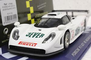 FLY 113 PORSCHE 911 GT1 98 JEVER RACING EVO 3 22,000 RPM MOTOR NEW 1/32 SLOT CAR