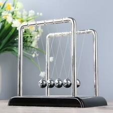 Well Newton Cradle Balance Steel Ball Physics Science Pendulum Desk Gift Toys UK