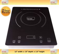 True Induction Cooktop * TI-1B Single Burner Cook top * Counter Inset * TI1B