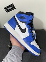 Nike Air Jordan 1 Retro High Game Royal Size 6 | GS Blue Chicago Bred Toe UNC