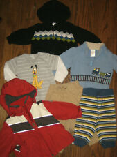 lot boys infant hoodie 6-12 month months tops pants sweater Gymboree jacket