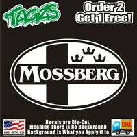 Mossberg Gun Rifle 2nd Amendment NRA DieCut Vinyl Window Decal Sticker Car Truck