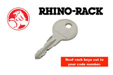 Holden Roof Rack Keys Cut To Your Code Number-Rhino Racks -FREE POSTAGE